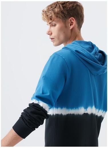 Mavi Mavi Siyah Kapüşonlu Sweatshirt Siyah